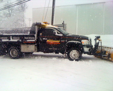 Rayner Enterprises snow plowing and removal