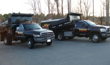 Rayner Enterprises delivery trucks